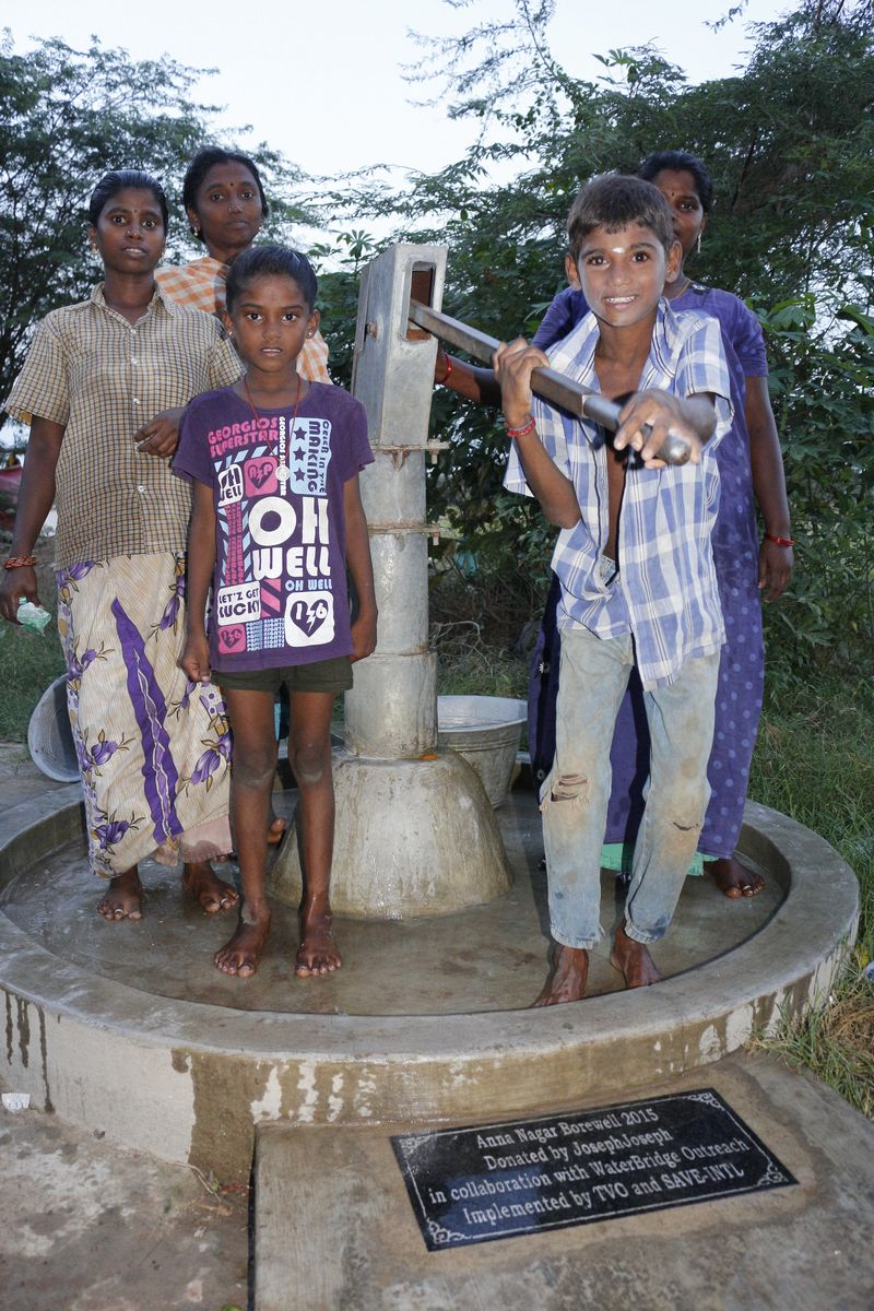 Bore Well + Hand Pump