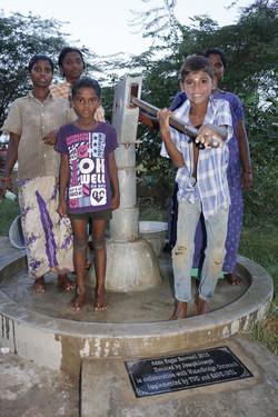 Bore Well + Hand Pump