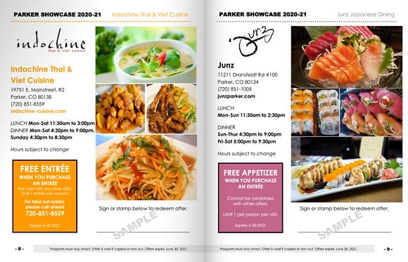 Parker Restaurant Passport (EDGE)