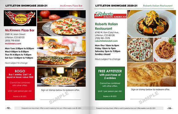 Littleton Restaurant Passport (CSH)