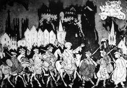 Entry of the Jacobite Army into Edinburgh