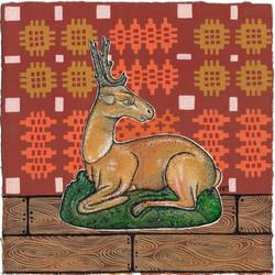 Staffordshire Stag by Harriet Lloyd