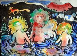 The Lake Man & His Daughters