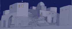 Bethleham at night