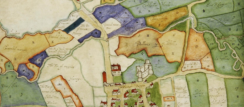 Maps, the first landscapes