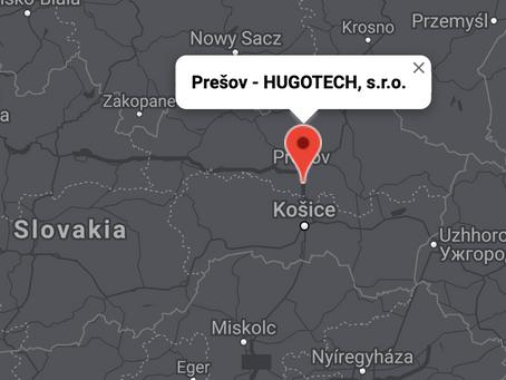 Východné Slovensko - HUGOTECH, s.r.o. - Prešov - Rozhlasové & Kamerové systémy