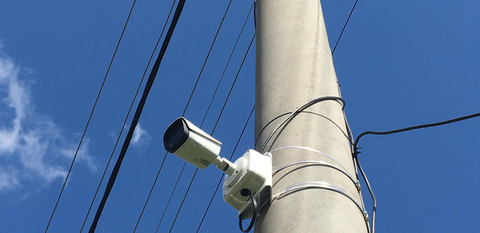 Kamerový systém pre obce
