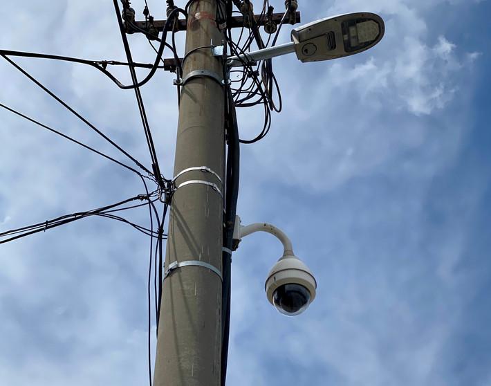 Bezpečnostný kamerový systém pre mestá