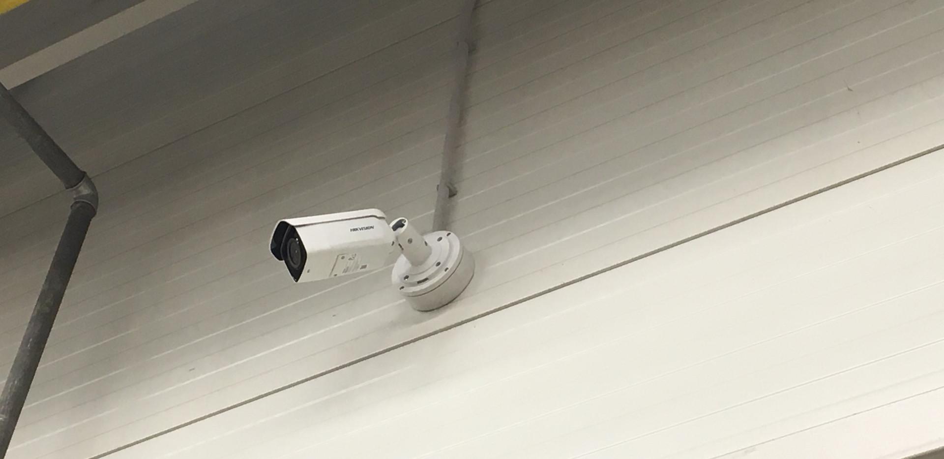 Kamerový systém - výrobne haly