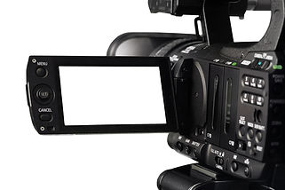 Cut Out HD Video Camera and Viewfinder.j