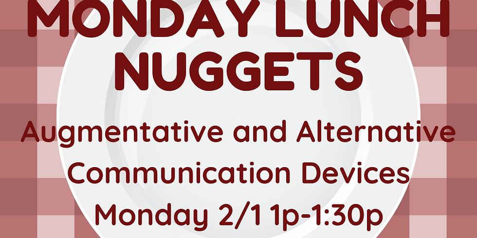 Monday Nuggets :: Caregiver Ed Web Series