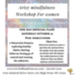 mindfulness one day class option to pay.