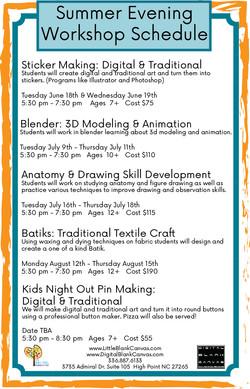 Workshops and express summer!