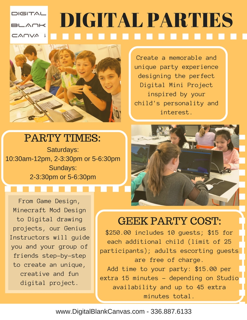 Geek Parties