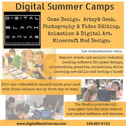 Digital Summer Camps