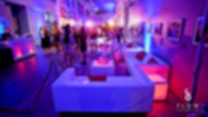 Lounge Furniture Renatl and Event lighting african art gallery Washington DC