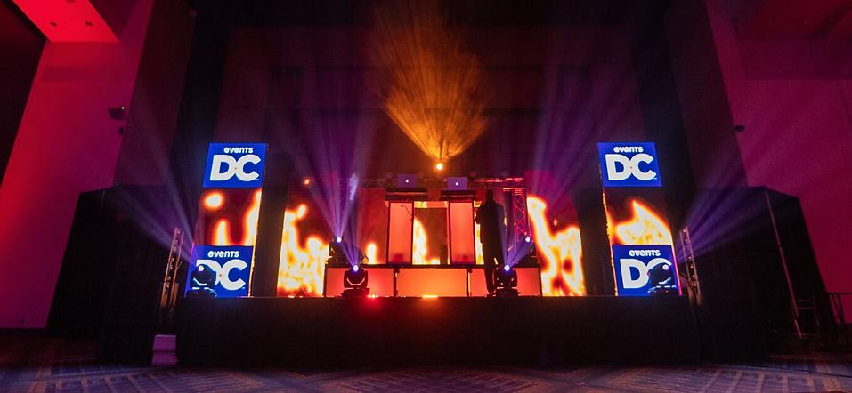 LED Video Wall DJ Booth Washington, DC