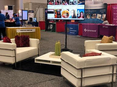 Social Media Lounge Furniture Rental Pho