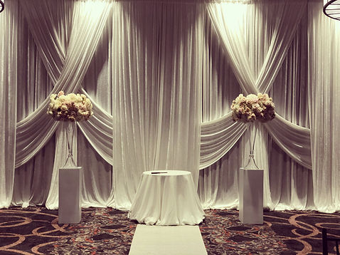 Wedding Pipe and Drape DC