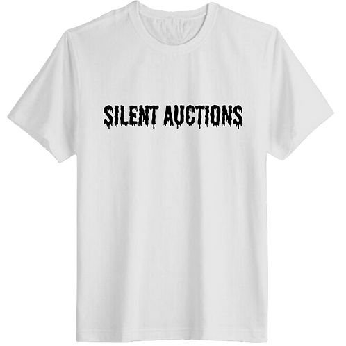"""SILENT AUCTIONS"" T-SHIRT"