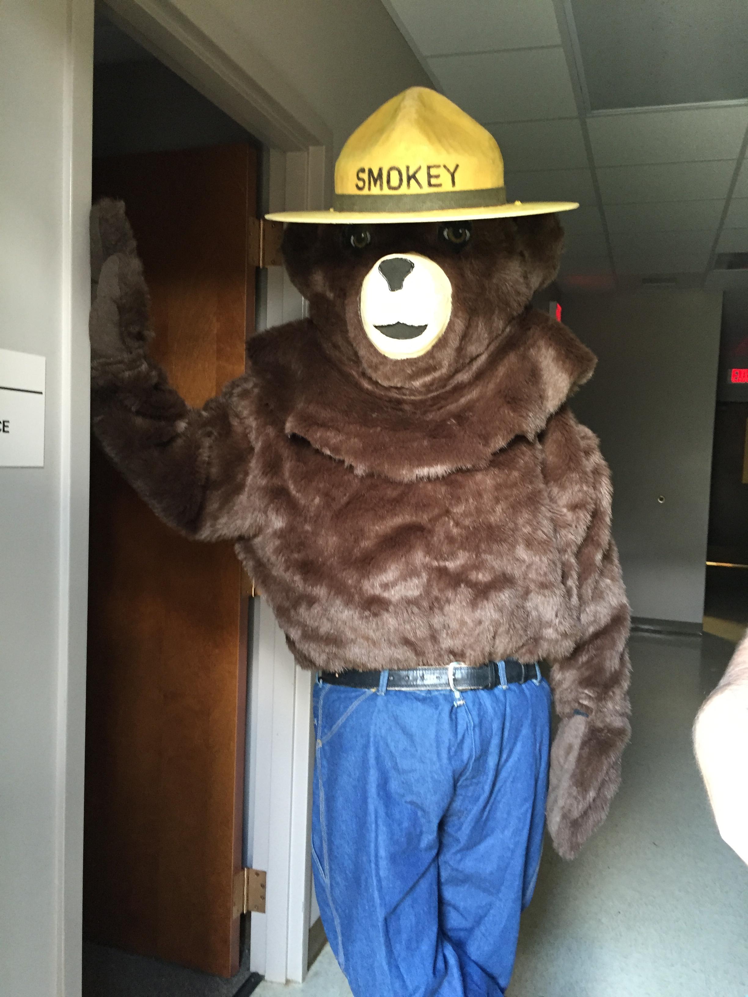 Earth Day Smokie the Bear
