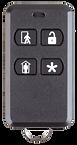 Four-button keychain remote
