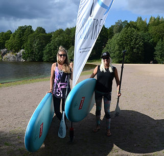 SUP stand up paddling Tampere