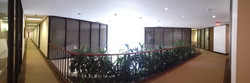Second floor panoramic view