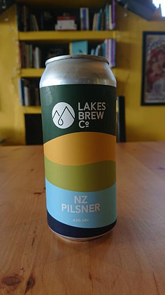 NZ Pilsner Lakes Brew Co 4.5%