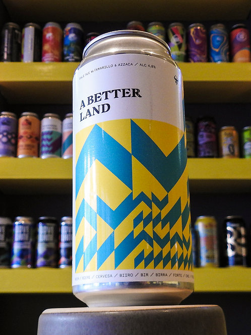 A Better Land: Pale. Black Lodge Brewery. 4.8%