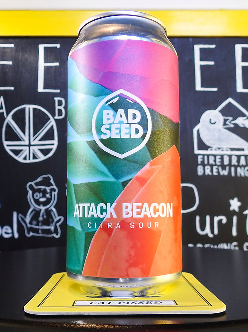 Attack Beacon: Sour, Bad Seed Brewery. 4.6%