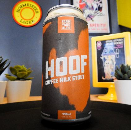 Hoof Coffee Milk Stout Farm Yard Ales 4.3%