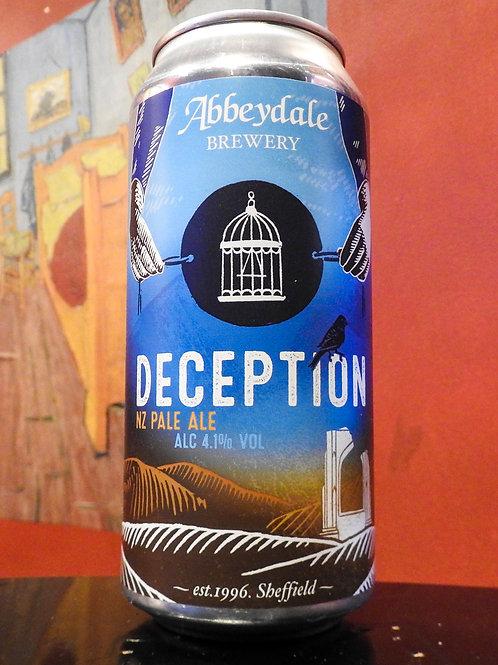 Deception: NZ Pale Ale, Abbeydale Brewery. 4.1%