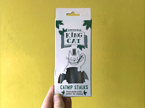 King Catnip: Catnip Stalks