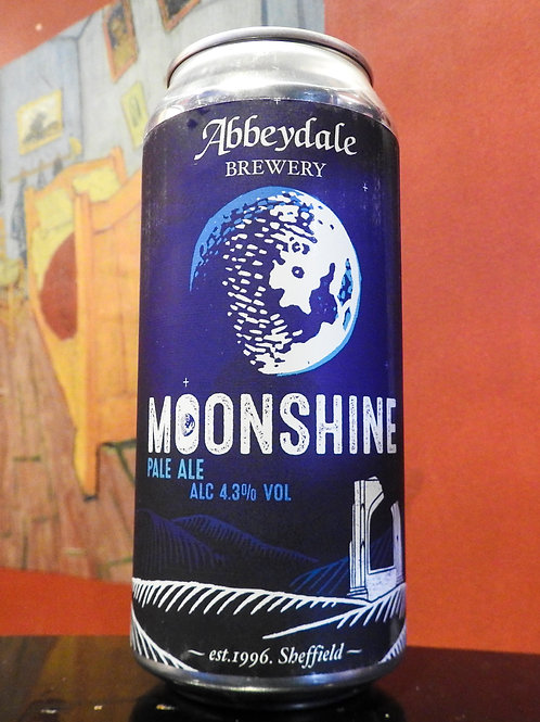 Moonshine: Pale Ale, Abbeydale Brewery. 4.3%