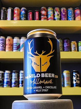 Millionaire Salted Caramel Milk Stout Wild Beer Co. 4.7%