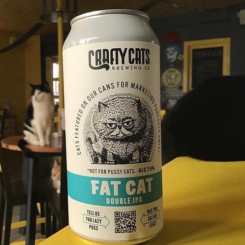 Fat Cat DIPA, Crafty Cats Brewing Co, 7.5.%