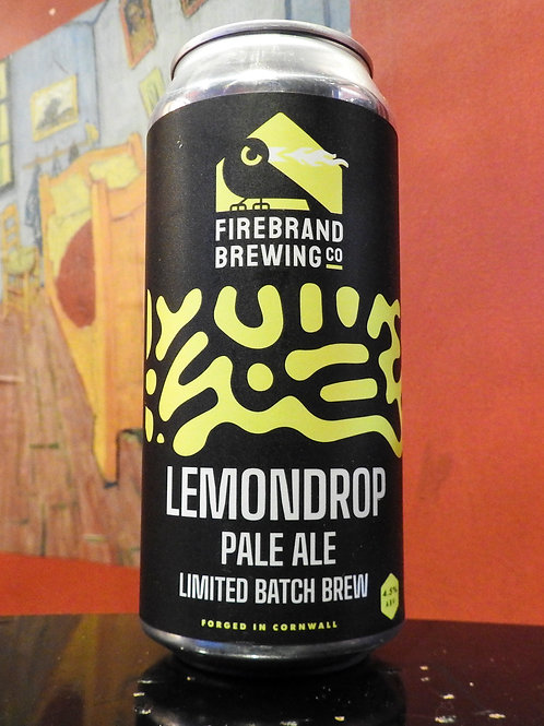 Lemondrop: Pale Ale, Firebrand Brewing Company. 4.5%