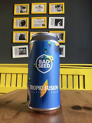 Tropic Fusion Tropical Sour Bad Seed 4.6%