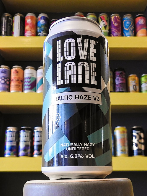 Baltic Haze V3: NEIPA. Love Lane Brewing. 6.2%