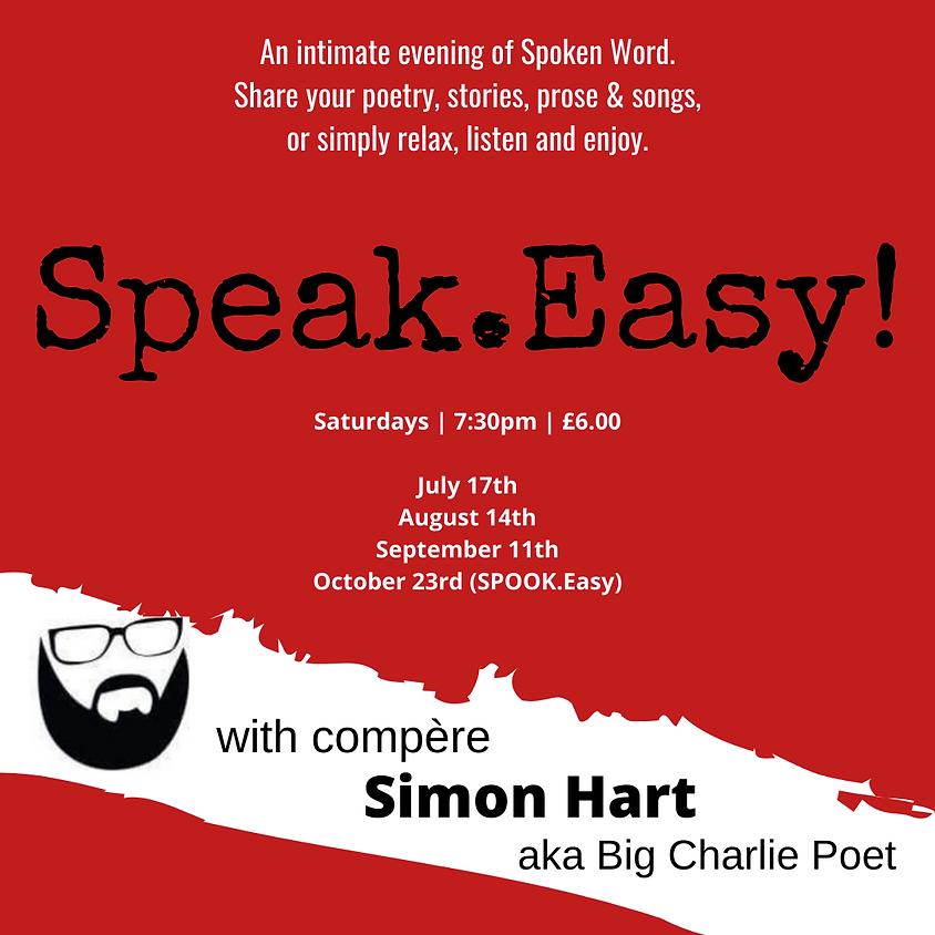 Speak.Easy! Open mic night.