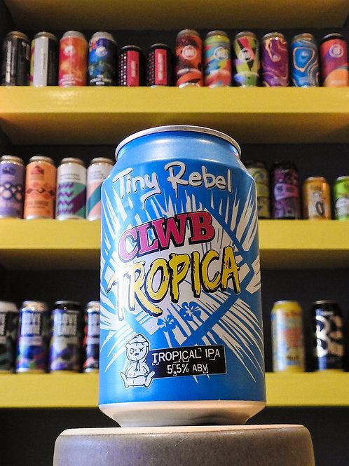 Clwb Tropicana: Tropical IPA. Tiny Rebel. 5.5%