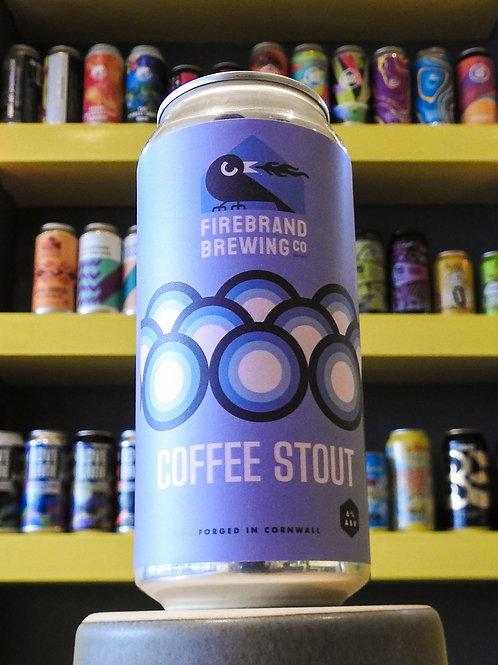 Coffee Stout. Firebrand Brewing. 6%