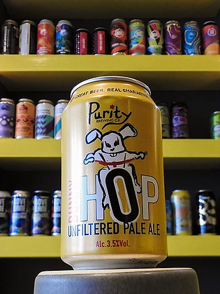 Bunny Hop Pale Purity Brewing 3.5%