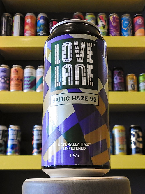Baltic Haze V2: NEIPA. Love Lane Brewing. 6%