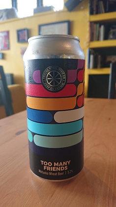 Too Many Friends Motueka Wheat Beer Twisted Wheel 5.2%