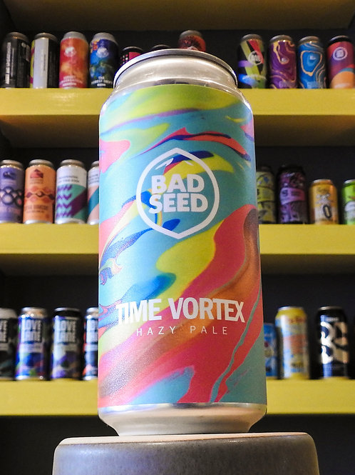Time Vortex: Hazy Pale. Bad Seed. 5.3%