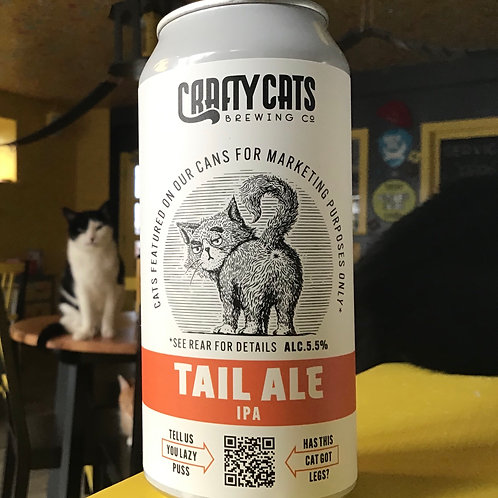 Tail Ale IPA, Crafty Cats Brewing Co, 5.%