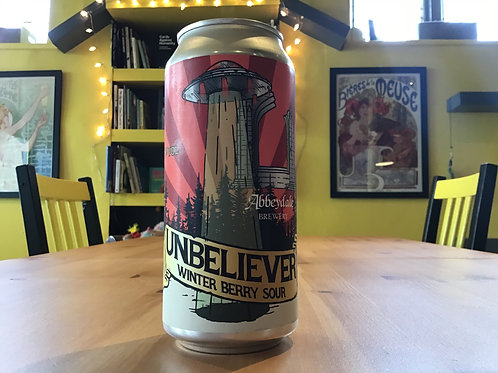 UNBELIEVER. WINTER BERRY SOUR. 4.5%