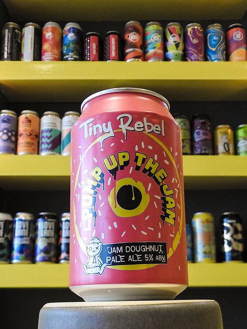 Pump Up The Jam: Jam Donut Pale. Tiny Rebel. 5%